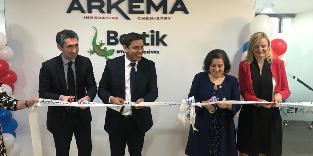 Arkema Group opened its new offices in DMCC   FRENCH BUSINESS