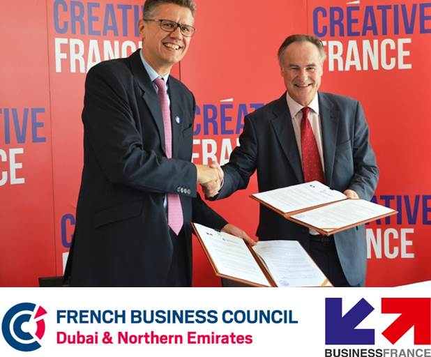 Business France And The French Business Council Signed An Agreement